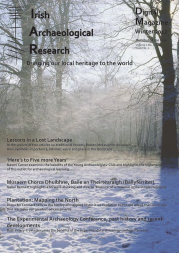Irish Archaeological Research Digital Magazine