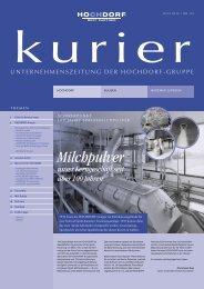 Kurier Nr. 92 - Hochdorf Nutritec AG