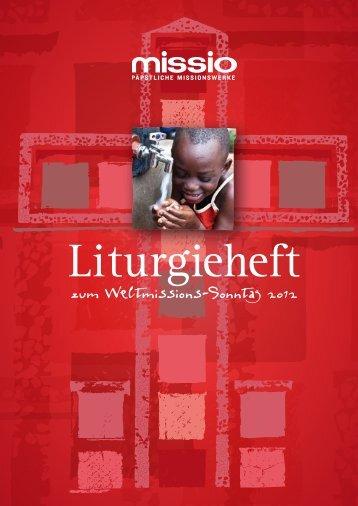 Botschaft zum Weltmissions-Sonntag 2012