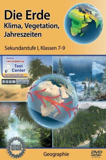Die Erde - Klima, Vegetation, Jahreszeiten - GIDA