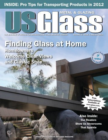 January 2012 - USGlass Magazine