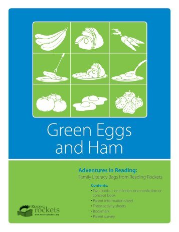 Green Eggs and Ham - Reading Rockets