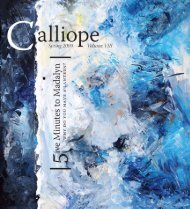 •Calliope Cover 09 Dust Jacket_v3 - University of the Pacific