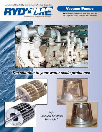 Vacuum Pumps - Apex Engineering Products Corporation