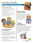Too Many Tamales - A Guide for Educators - Page 2