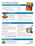 Too Many Tamales - A Guide for Educators - Page 6