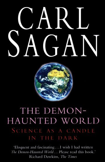 Carl Sagan - The Demon-Haunted World: Science as a Candle in ...