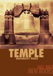 New Books - Temple University
