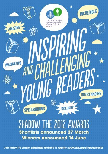 Shadow the 2012 Awards - CILIP