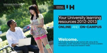 Learning Resources Guide - University of Hertfordshire
