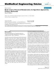 Book review of Structural Bioinformatics: An Algorithmic Approach ...