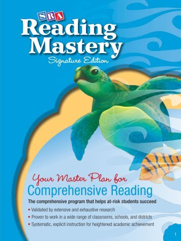 Reading Mastery - McGraw-Hill