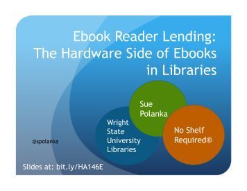 Ebook Reader Lending: The Hardware Side of Ebooks in Libraries