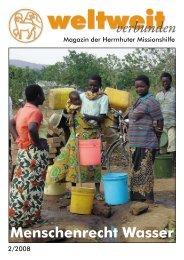 Heft 2-2008 - Herrnhuter Missionshilfe
