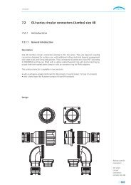 7.2 GU series circular connectors (Jumbo) size 48 7.2.1 ... - Gimota AG