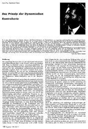 Das Prinzip der Dynamischen Kontrabarie