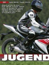Honda CBR125R – Yamaha YZF-R125 - Zweirad Zirlewagen