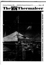 SAM 600 of Australia Newsletter # 70 NovembePDecember 2000