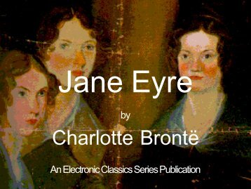 Jane Eyre - Penn State University