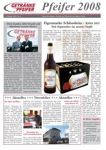 9 free Magazines from GETRAENKE.PFEIFER.DE