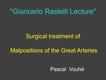 MGA : surgical treatment - SICP
