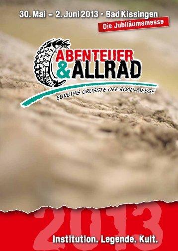 Folder zur Abenteuer & Allrad 2013