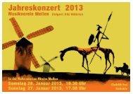 Jahreskonzerte 2013 - Musikverein Meilen