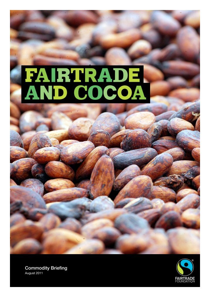 cocoa commodity