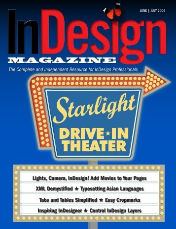 InDesign Magazine June | July 2006 (#12) - Diane Burns Inc
