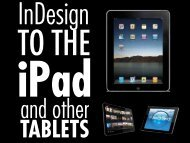 Fritz: From InDesign to iPad (PepCon presentation ... - Diane Burns Inc