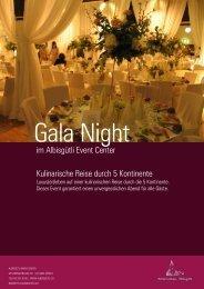 im Albisgütli Event Center Kulinarische Reise durch 5 Kontinente