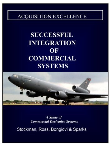 Successful Integration of Commercial Systems - Dayton Aerospace