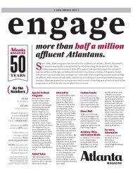 more than half a million affluent Atlantans. - Atlanta Magazine