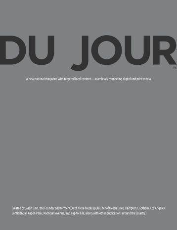 Download - DuJour