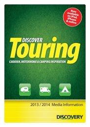 Discover Touring 2013/2014 media pack - dmgpublishing.co.uk