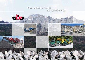 koji pomiču brda Punosnažni proizvodi - Gipo AG