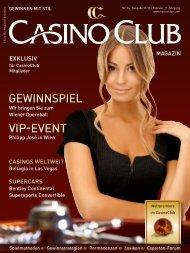 Vip-eVent Gewinnspiel - CasinoClub Magazin