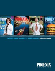 audited/paid · 2013 media kit - PHOENIX Magazine