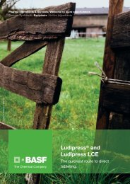 Ludipress® and Ludipress LCE - Pharma Ingredients & Services BASF