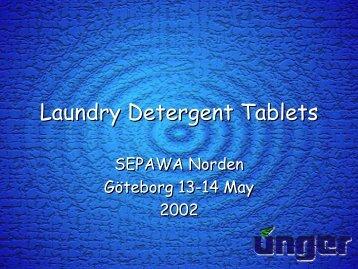 Laundry Detergent Tablets - Sepawa