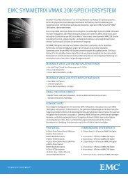 View Spec Sheet - EMC