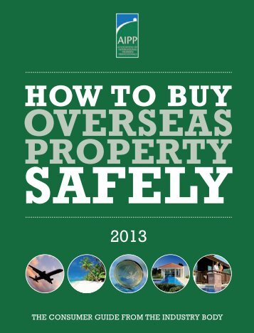 HOW TO BUY - Association of International Property Professionals