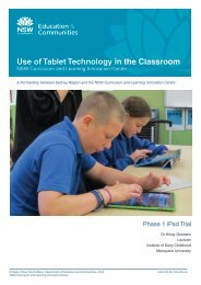 Use of Tablet Technology in the Classroom - Tale.edu.au tale