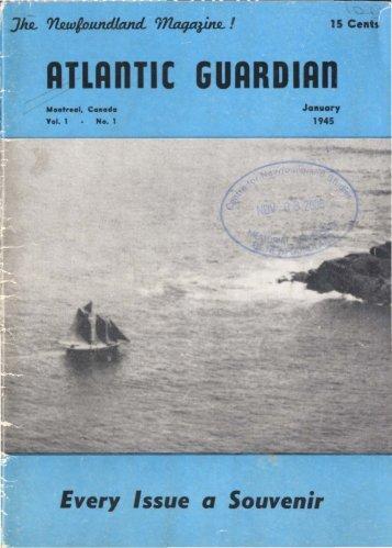 ATLAnTIC GUARDIAn - Memorial University of Newfoundland DAI