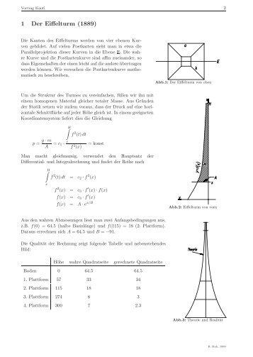 1 Der Eiffelturm (1889)