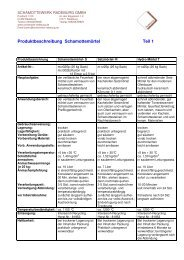 Produktbeschreibung Schamottemörtel Teil 1 - Schamottewerk ...