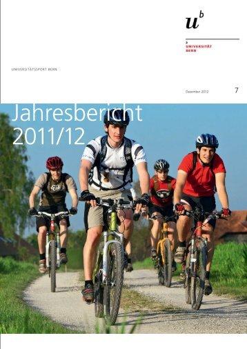 Jahresbericht 2011/12 - Universitätssport - Universität Bern