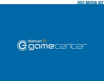 Walmart GameCenter Media Kit - Adplayerz
