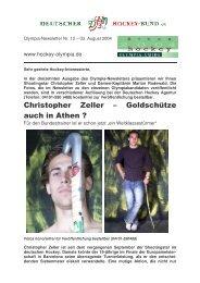 Christopher Zeller – Goldschütze auch in Athen - Deutscher Hockey ...