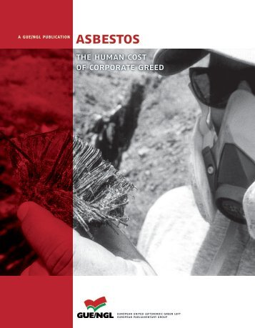 AsBEsTOs the human cost of corporate greed - GUE/NGL